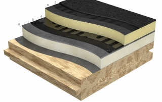 Tilläggsisolering med PIR på underlag av trä